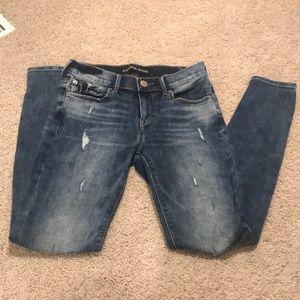 Express Mid Rise Legging Jean